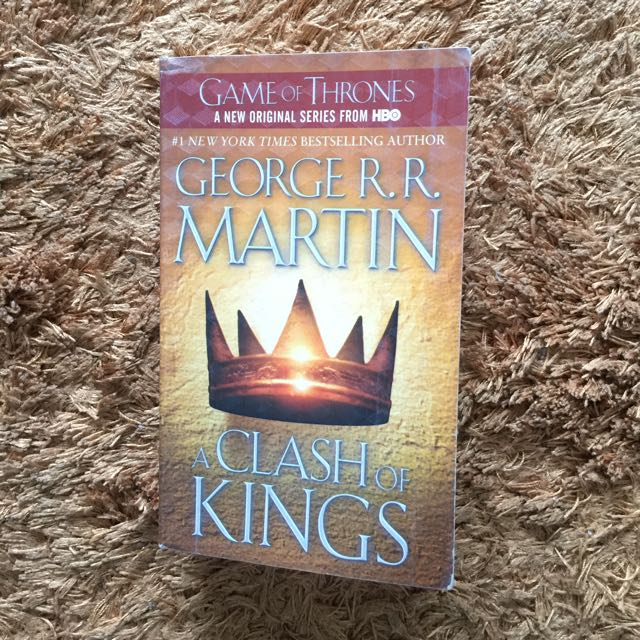 Clash Of kings (Game of Thrones book 2) George R. R. Martin