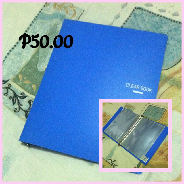 Clear Book (new)