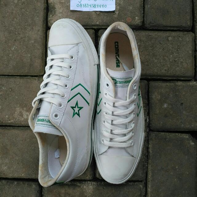 Converse Pro Star White Green