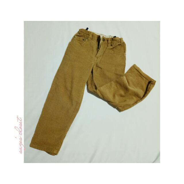 corduroy tan pants