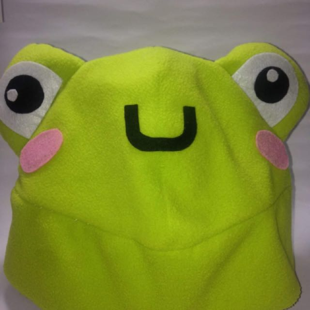 Cosplay kawaii kermit hat