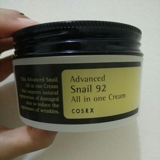 Cosrx Advance Snail 92 All In One Cream