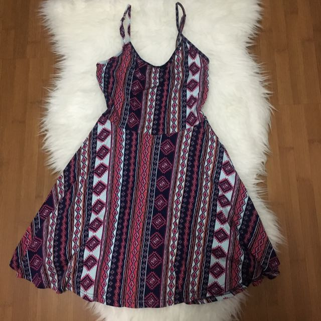 (Preloved) Cotton On Tribal Tank Dress