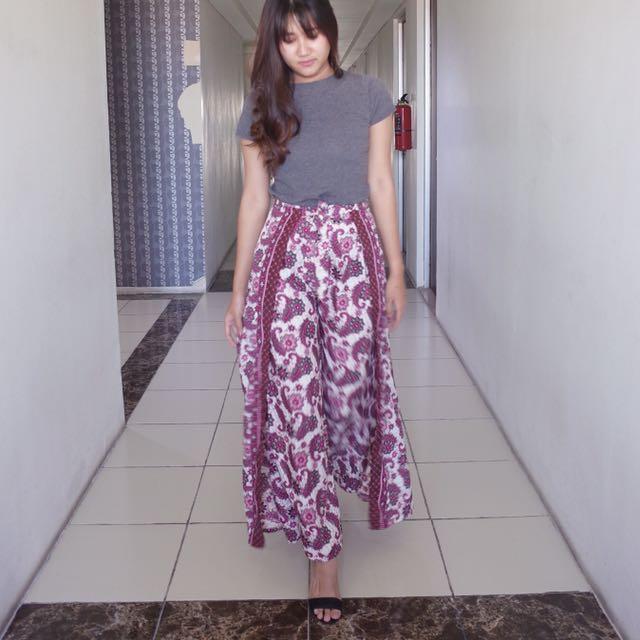 cullotte batik