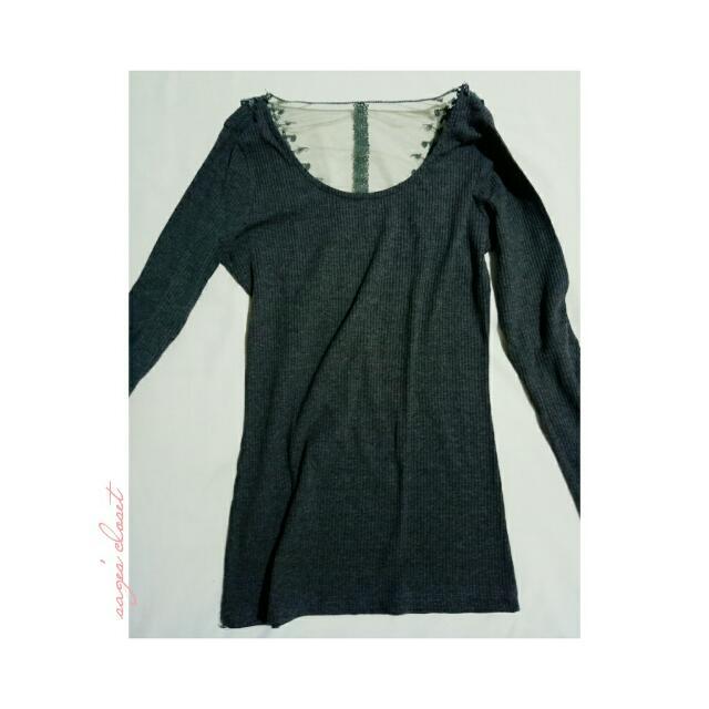designed back (dark green) longsleeves
