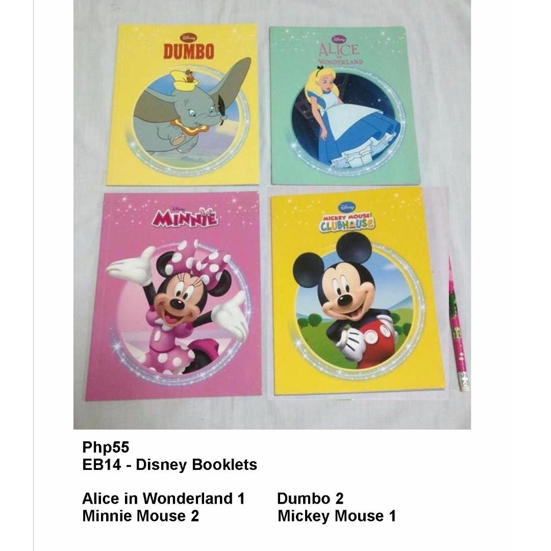 Disney Booklets