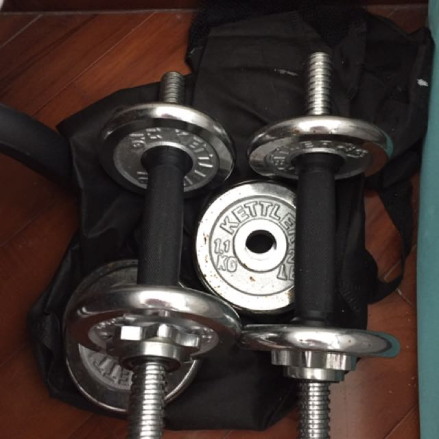 Dumbells set ( Light Weights For Exercise)