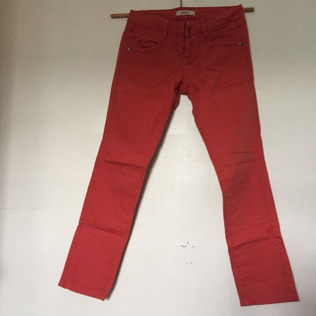 Esprit Red Skinny Jeans