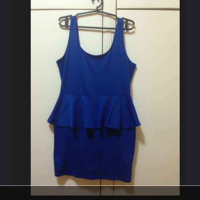 Forever21 Blue Dress
