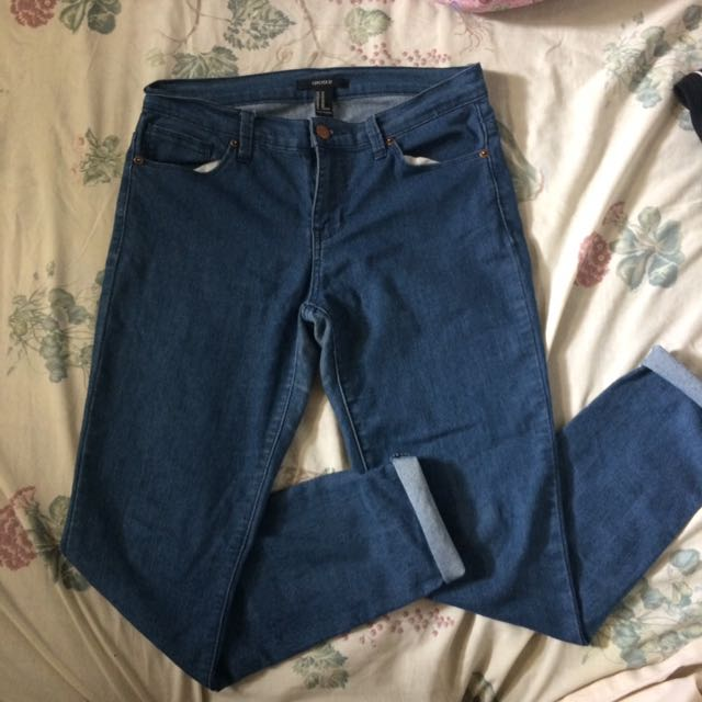 Forever 21 Low rise Jeans