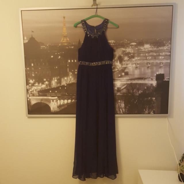 Forever New Midnight Blue Formal Dress   Size 8