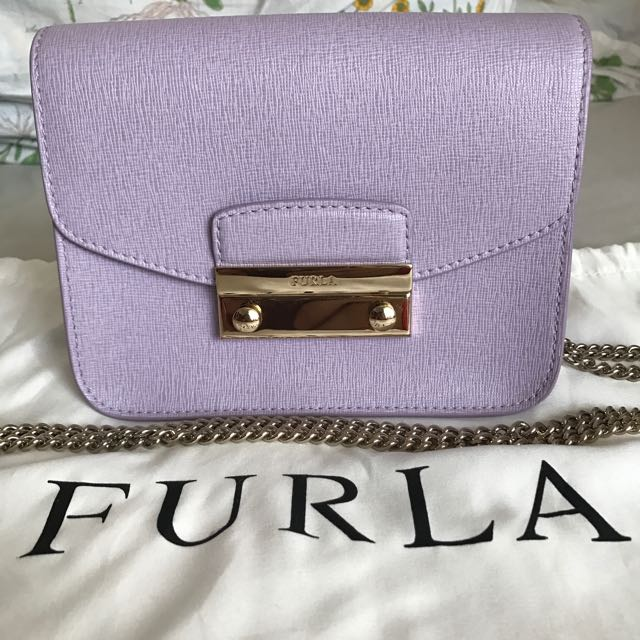 Furla Julia / metropolis Cross Body Leather Bag