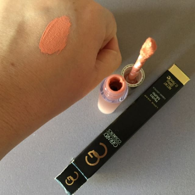 Gerard Cosmetics Liquid Lipstick Adams And Eve