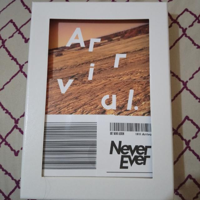 GOT7 Never Ever Album - Never Version