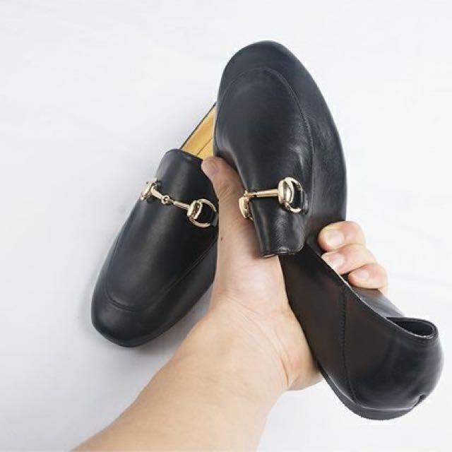 Gucci Inspired Leather Loafer