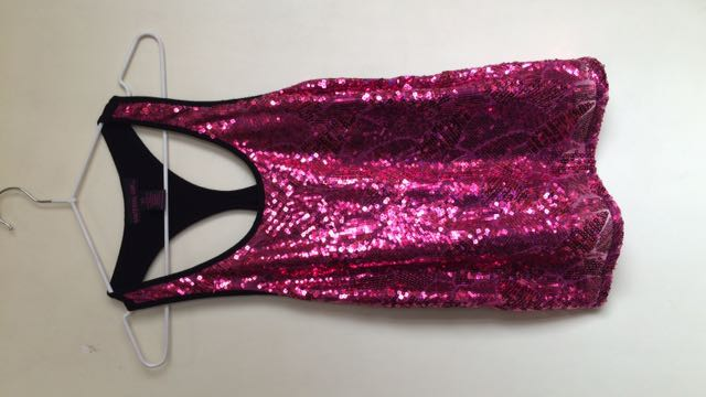 Halter Sequenced Top