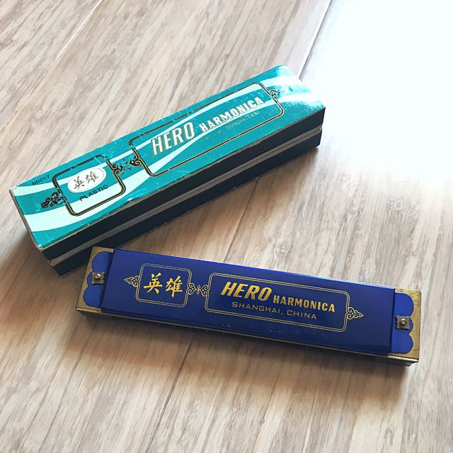 Harmonica - electric blue 🎶 Perfect new hobby!