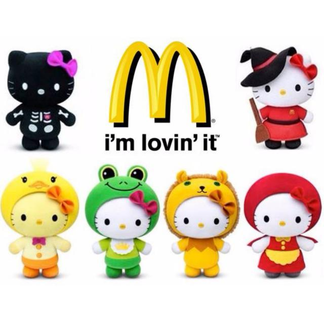 Hello Kitty Fairy Tales McDonalds 2013