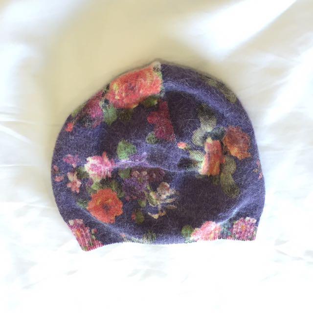 H&M Floral Beanie