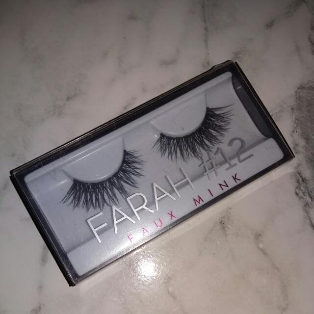 Huda Beauty Faux Mink Lashes - Farah (12)