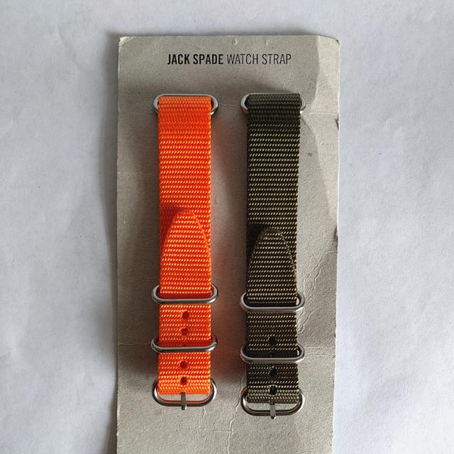 Jack Spade Conway Watch Strap set
