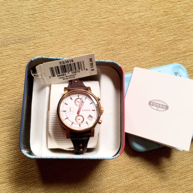 jam tangan fossil boyfriend original counter