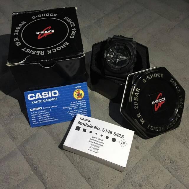 JAM TANGAN G-SHOCK 5146 BLACK ARMY MILLITARY (LIMITED EDITION)