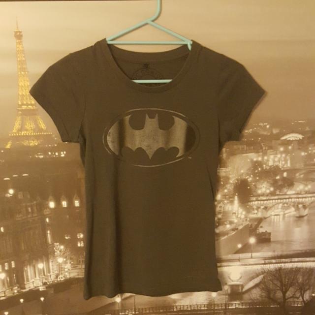 Jay Jays Dark Grey Batman T-Shirt   Size XS