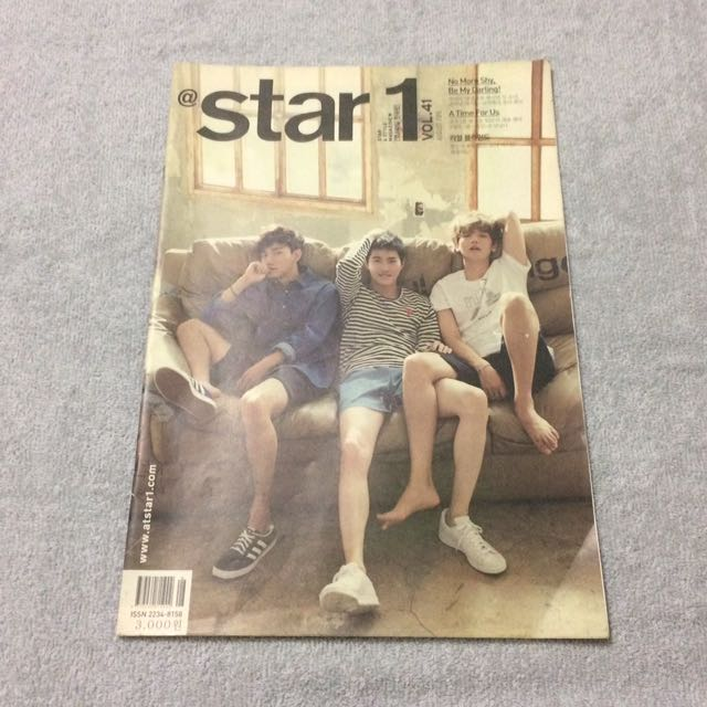 Korean Magazines (EXO and VIXX Covers)