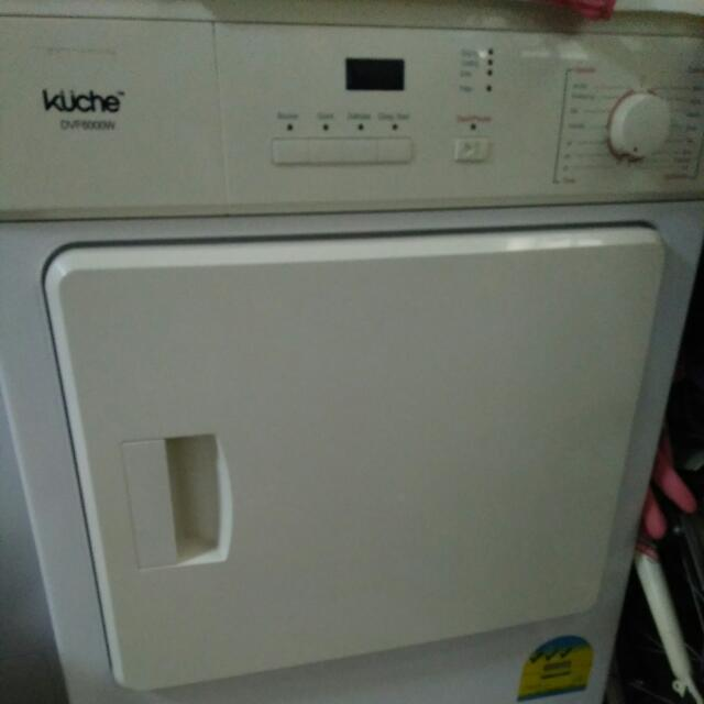 Kuche Dryer Dvf6000w Home Appliances On Carousell