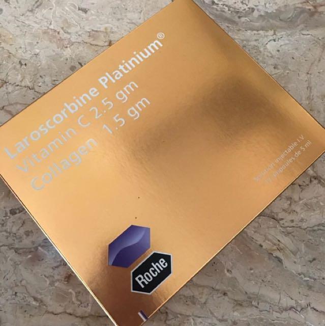 LAROSCORBINE PLATINUM GOLD ✨, Health & Beauty, Skin, Bath, & Body on Carousell