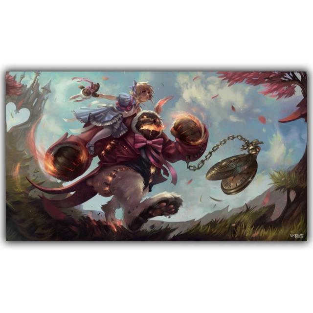 League Of Legends Canvas Print Paintings Wall Art Wall Decor, Design ...