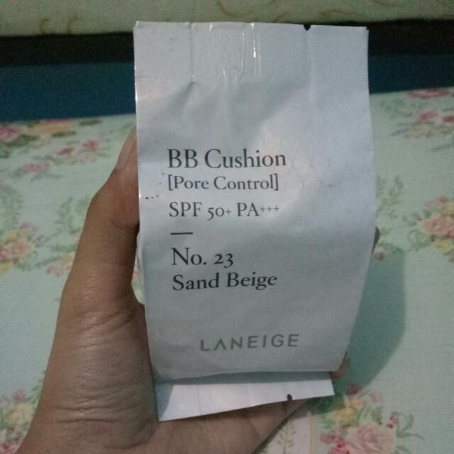 TURUN HARGA!! L^neige BB Cushion Pore Control No.23 Sand Beige