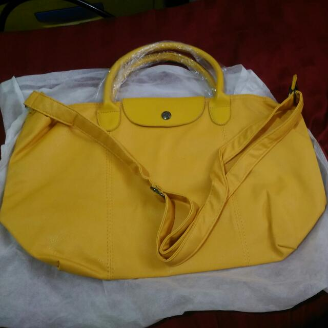 LongChamp Yellow