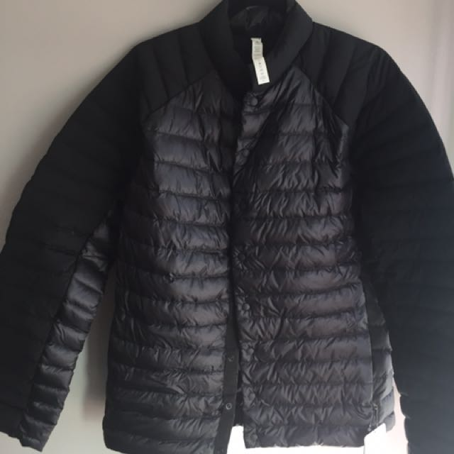 "Lululemon Large Men Jacket ""Down Right Jacket"""