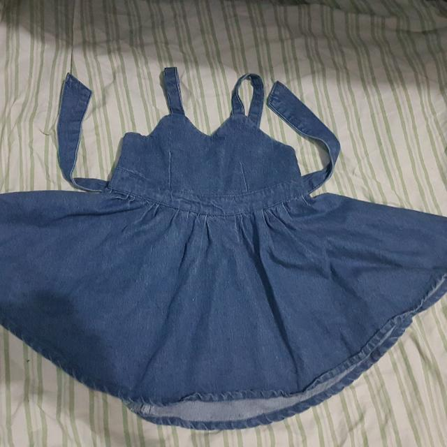 maong dress for your tot