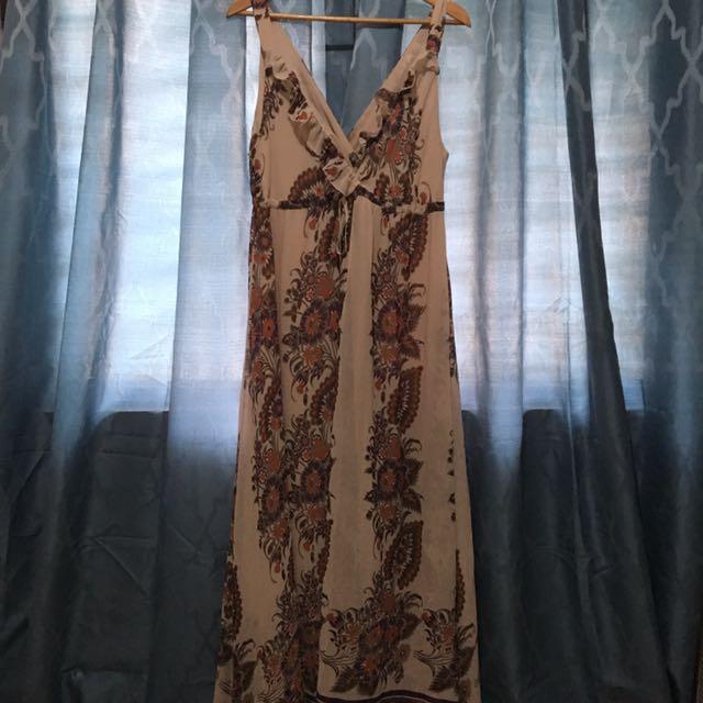 Maxi/Maternity Floral Dress