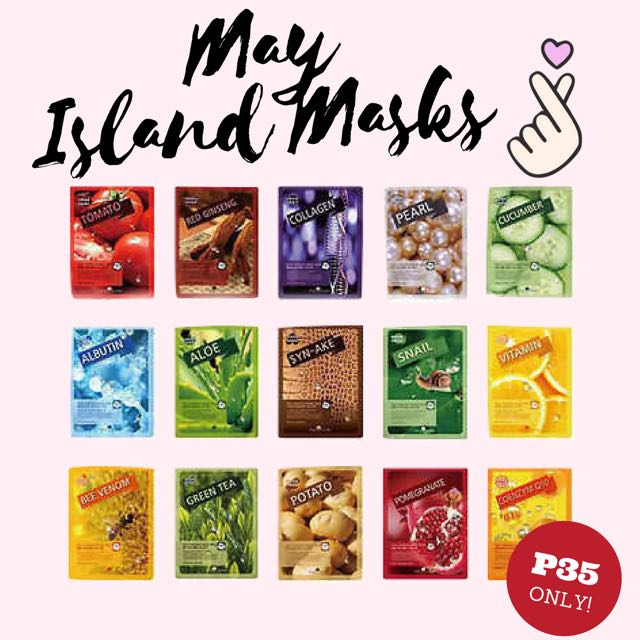 May Island Real Essence Mask Pack