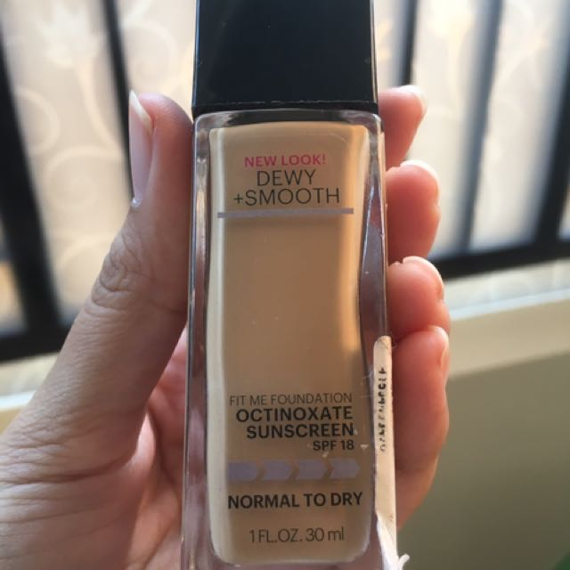 Maybelline Foundation Fit Me Dewy+Smooth