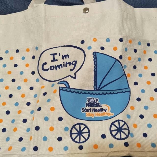 New 🎊雀巢媽媽帆布購物袋