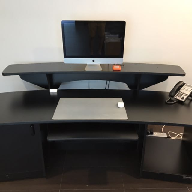 Omnirax Force 24 Studio Desk Furniture Tables Chairs On Carousell