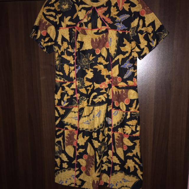 Oriental Batik Dress