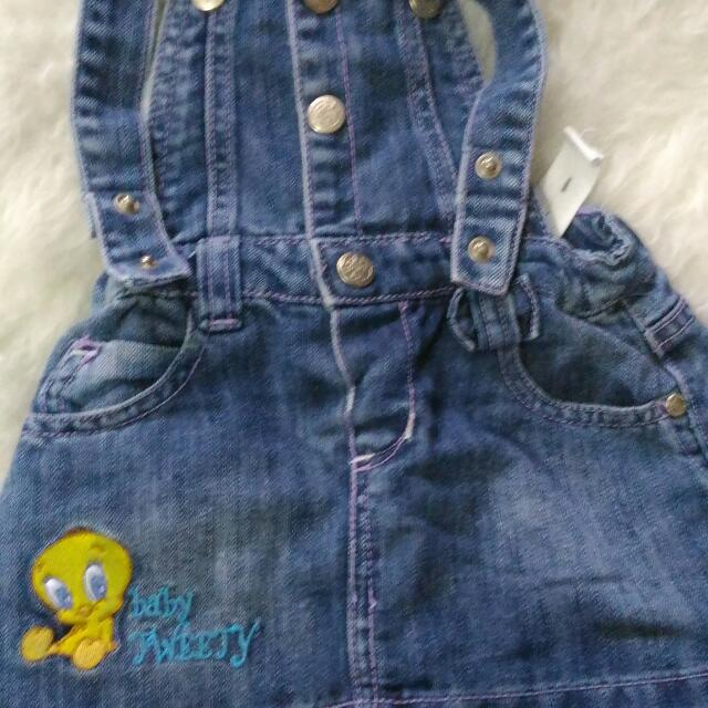 Overall, Merk Baby Looney Tones,size 2