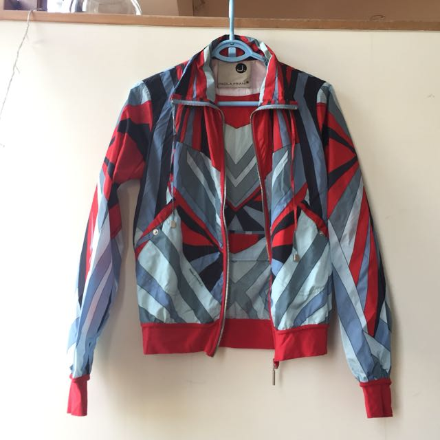 Paola Frani (Italian Brand) Raincoat
