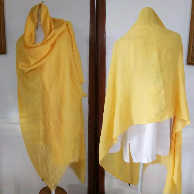 Pashmina Rawis Kuning
