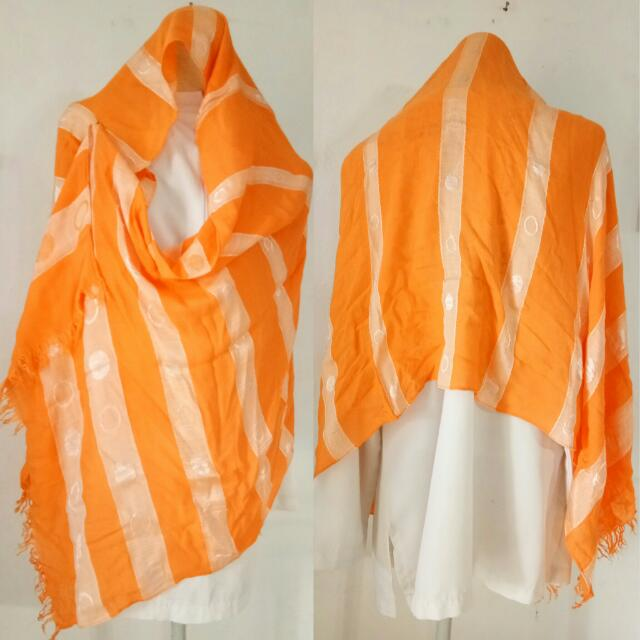 Pashmina Saudia Orange