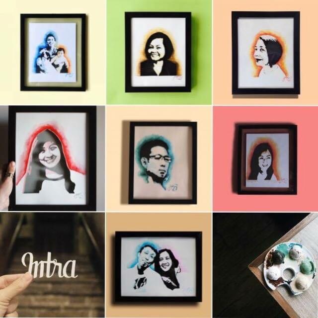 Personalized Papercut Portraits