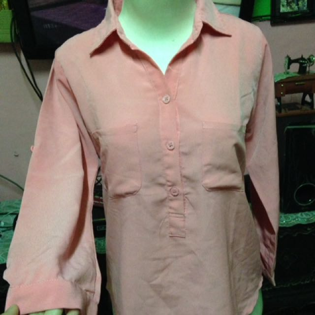 Pink Blouse Nobby