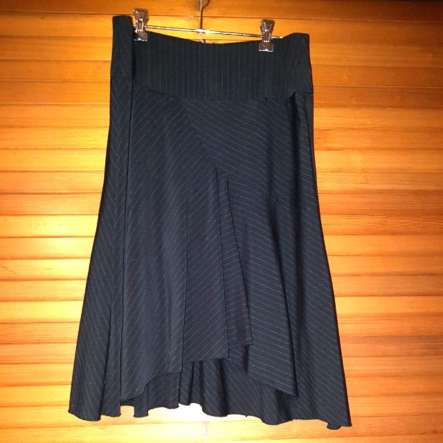 Pinstripe Crossroads Skirt Size 10-12