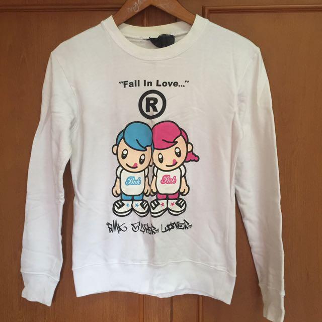 Pmk Milk Sweater  Couple